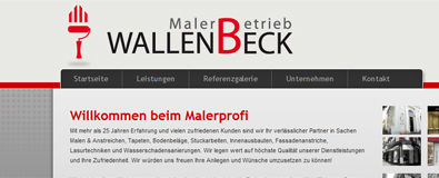 Referenzbild: Malerbetrieb Wallenbeck